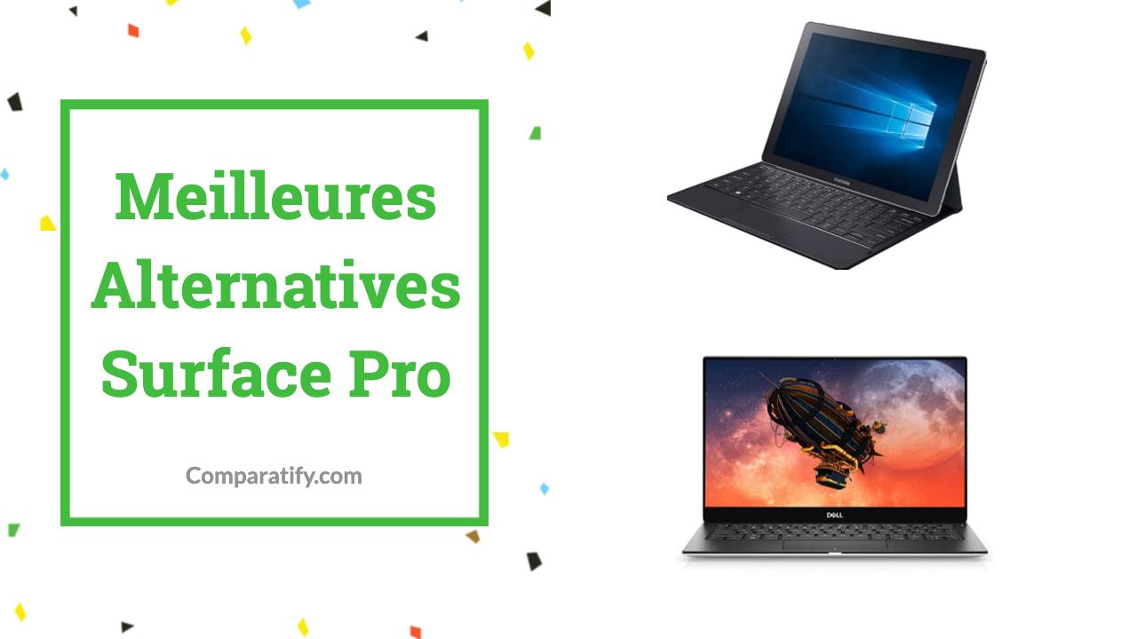 Meilleures Alternatives Surface Pro