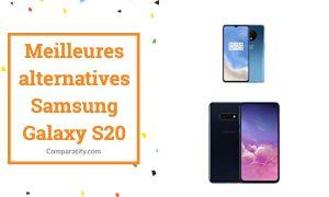 Meilleures alternatives Samsung Galaxy S20