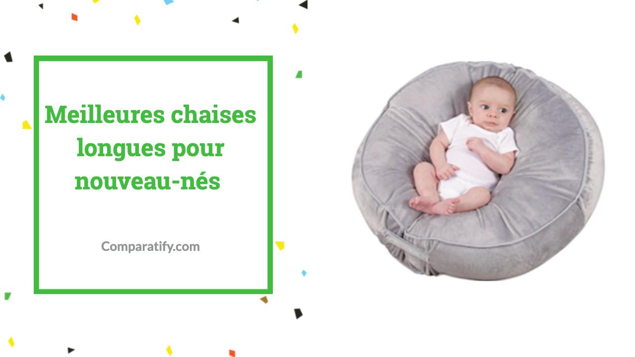 Meilleures chaises longues pour nouveau-nés
