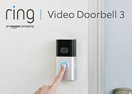 meilleur visiophone sans fil - Ring Video Doorbell 3