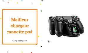 Meilleur chargeur manette PS4 PS5