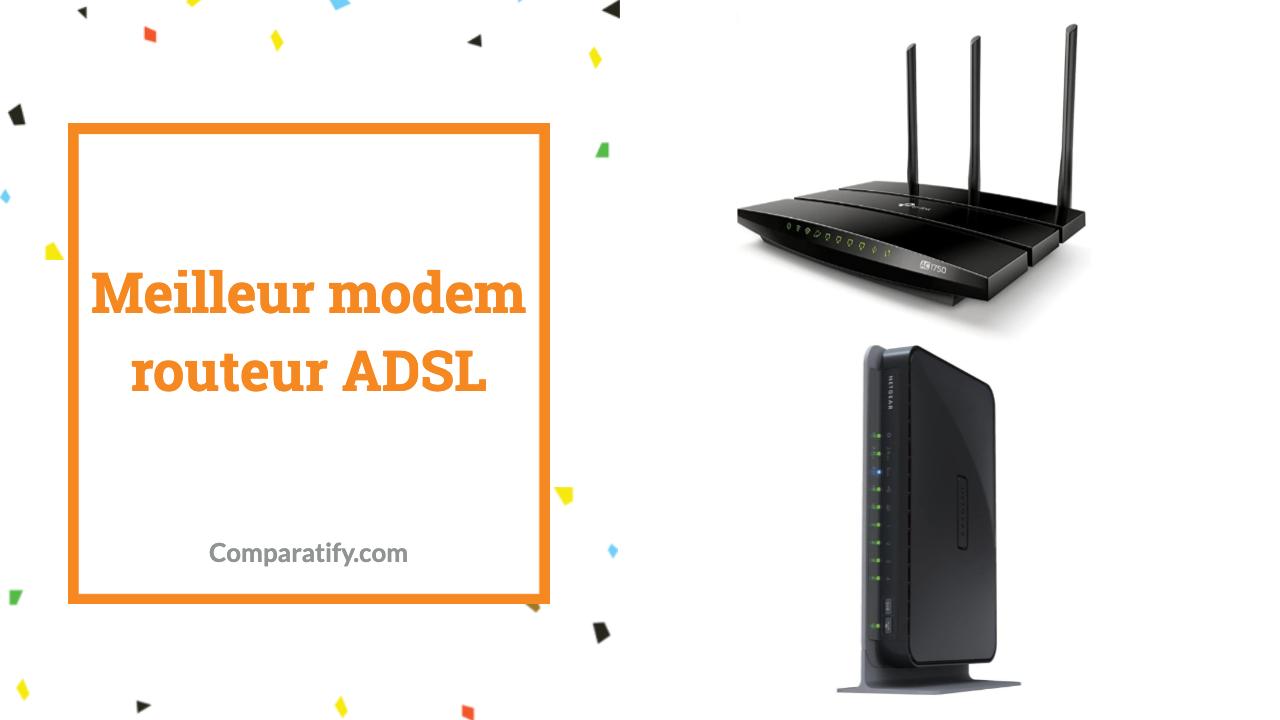 Meilleur modem routeur ADSL
