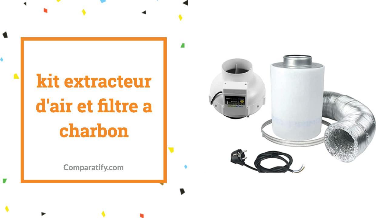 kit extracteur d'air et filtre a charbon