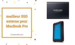 meilleur SSD externe pour Mac Book Pro
